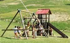 Kinderhotel Spielplatz