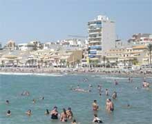 Strand der Costa Blanca